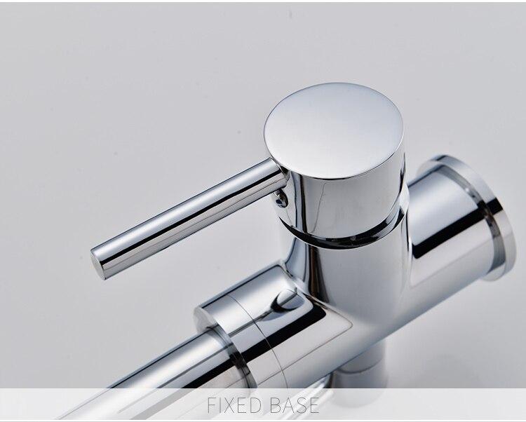 Flg filtro rubinetto della cucina di acqua potabile chrome deck