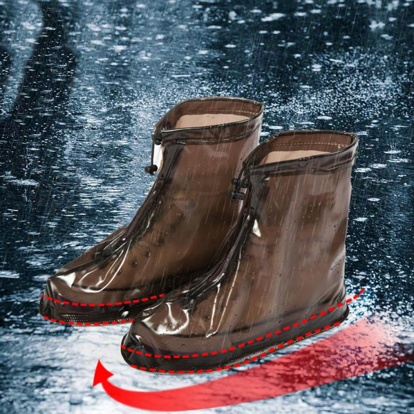 3-M Unisex Waterproof Rain Shoes Reusable Boots Slip Resistant CO 35-46 Cycling Shoes For Women & Men Winter Cycle Cycling