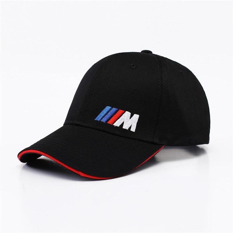 Car Styling Coton M Emblème Casquette de baseball Chapeau Pour Bmw E46 E39 E90 E60 E36 F30 F10 X5 E53 E34 F20 M M3 M5 M Performance chapeau