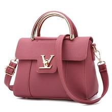 2016 New font b Women b font Small Leather Shoulder bags Girls Crossbody Messenger bag Ladies