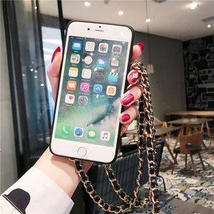 Image 4 - ירוק גרניט השיש טלפון Crossbody מגן Case כיסוי עבור iPhone 12 11 פרו XS MAX XR X 8 7 6S בתוספת עם ארוך כתף רצועה