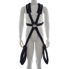 Adult game plush bondage rope harness Sex Products Tools Role Play men Sex Slave Bundle Bound Shoulders Back Style