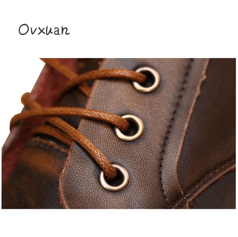 Nieuwe mode vrouwen laarzen/ronde kop/Blok Hak/rits/effen kleur/winter casual & werk & dating vrouwen schoenen - 4
