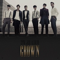 2PM 3RD ALBUM VOL 3 - GROWN RANDOM COVER (+ Photobook (52 pages ) + Event Card (Random) Release Date 2013-5-15 KPOP 2pm first album 1 59 pm release date 2009 11 12 original korea kpop album