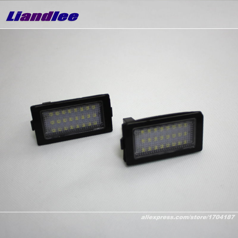 Liandlee For BMW 728i 730i 735i 740i 750i LED Car License Plate Light Number Frame Lamp High Quality LED Lights in Signal Lamp from Automobiles Motorcycles