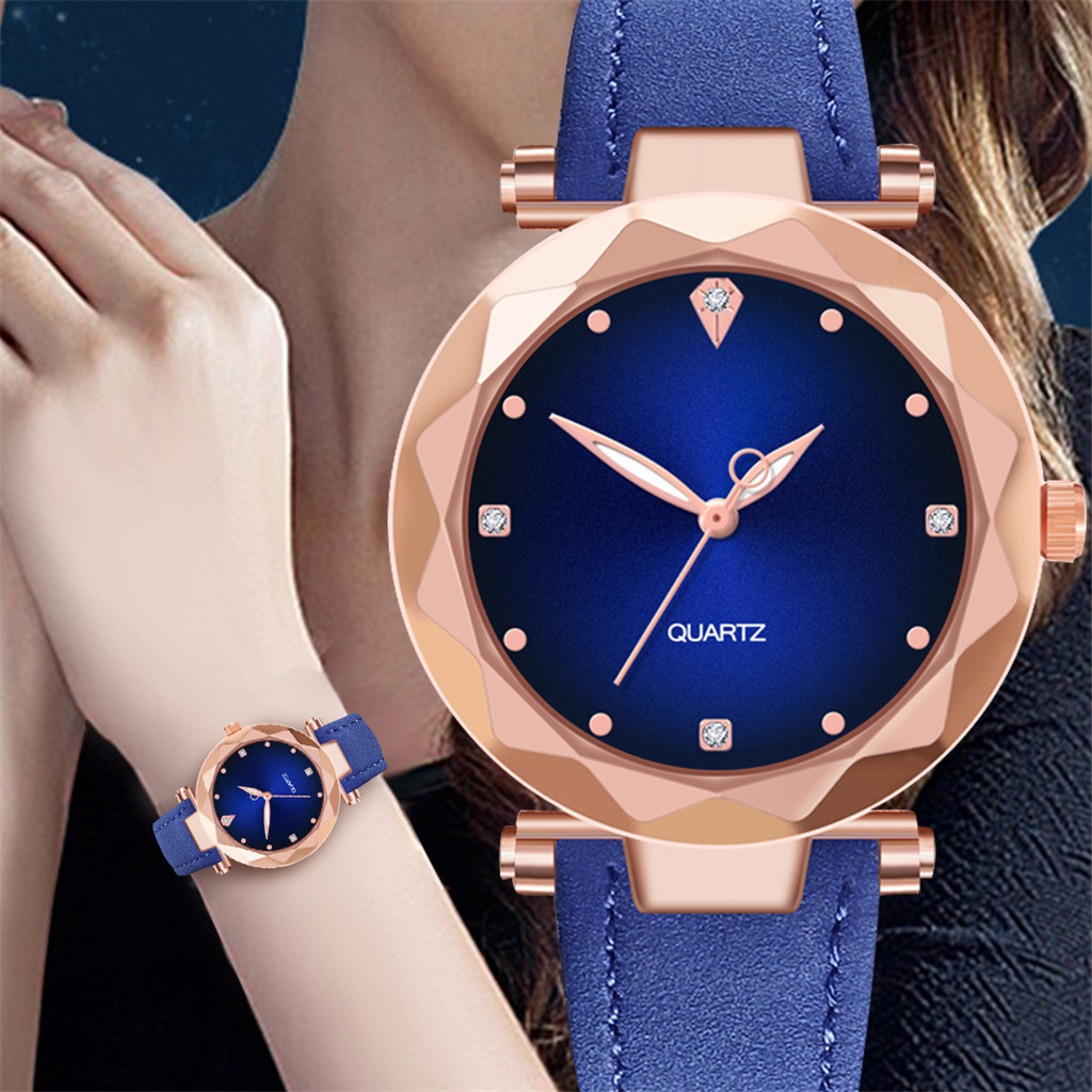 Fashion Women Female Quartz Watches  Ladies Luxury Stainless Steel Dial Watch Casual Bracelet Wristwatch Thanksgiving Gift