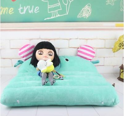 New Doll Bed Blyth Licca Doll Bed 1/6 Dollhouse Accessories For Licca Azone 1/6 Bjd Doll Accessories For Barbie