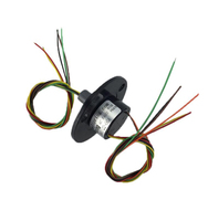 Free Shipping Hat Shaped Slip Ring For PAN Tilt High Speed Ball Stage Lights 6 Wires
