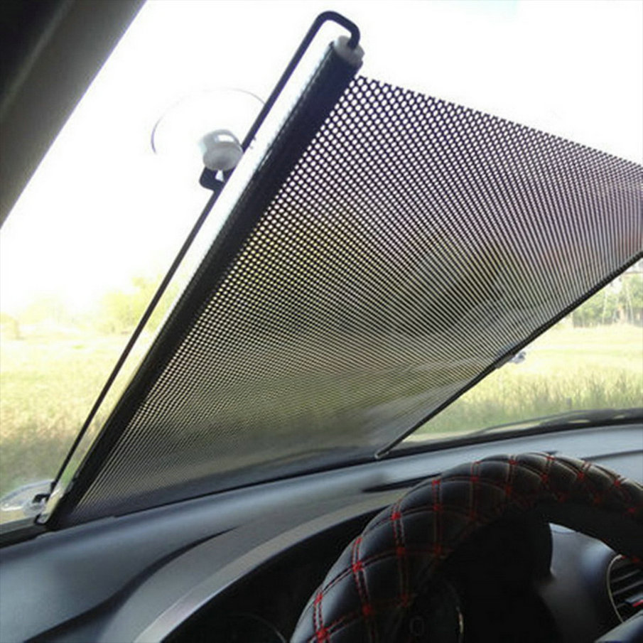 174 Auto Accessories Retractable ⑧ Side Side Window Car Sun Shade Curtain Automatic ᐅ Sunscreen