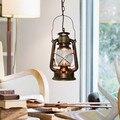 Керосиновые светодиодные лампы  винтажные подвесные светильники  европейские лампы с одной головкой  ретро Ностальгический светильник GY96