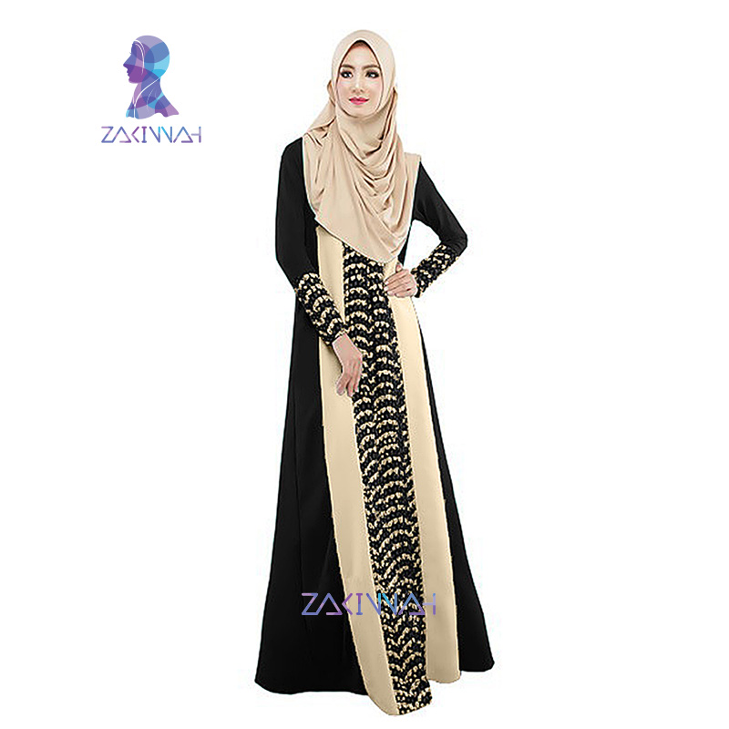 moda las caliente kaftan musulmanes Islámico islámica para señoras turco musulmanes Albornoces abaya árabes ropa abaya encaje caftan mujeres 020 Faxd0qwA70