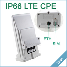 Free Shipping! YF-P11 outdoor 4g CPE router access point bridge LTE 150M with 8dbi built-in antenna