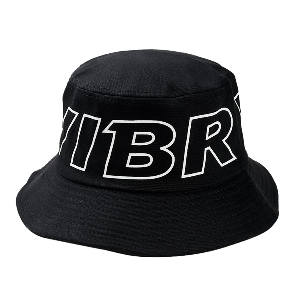Printed large letters outdoor fisherman hat casual trend out sun shade men's women's universal hat  Z118