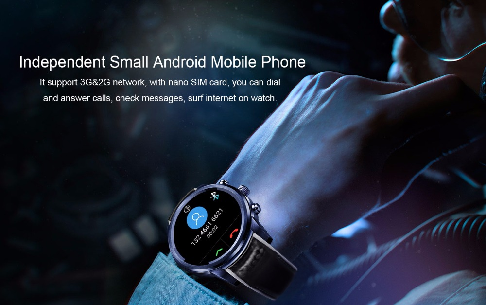LEMFO LEM5 Pro Android Smart Watch For Men And Women 2GB + 16GB With GPS WiFi And Bluetooth 7