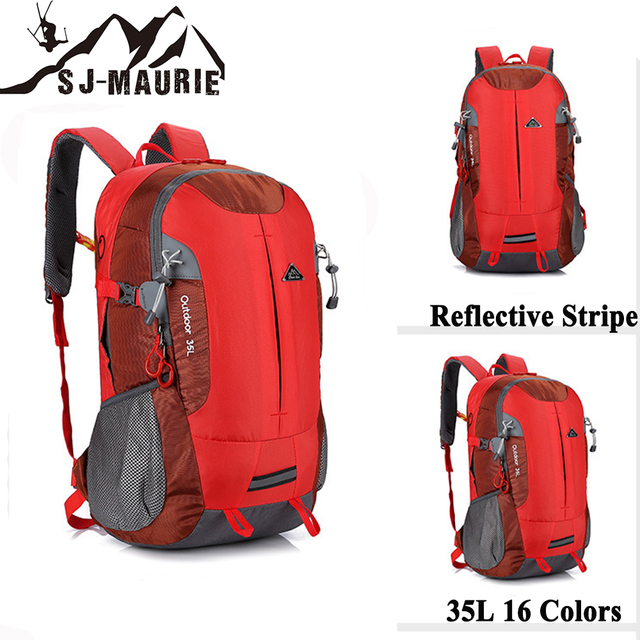 77ad038649 35L Outdoor Waterproof Backpacks for Hiking Ultralight 16 Colors Trekking  Travel Sports Fashion Backpack Bags