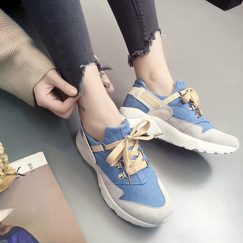 2018 white pink air mesh student breathable lace up outdoor women shoes lightweight woman vulcanized sneakers shoes canvas instantarts pink cartoon shark print women lace up flat shoes fashion summer air mesh shoes breathable sneakers for woman lady