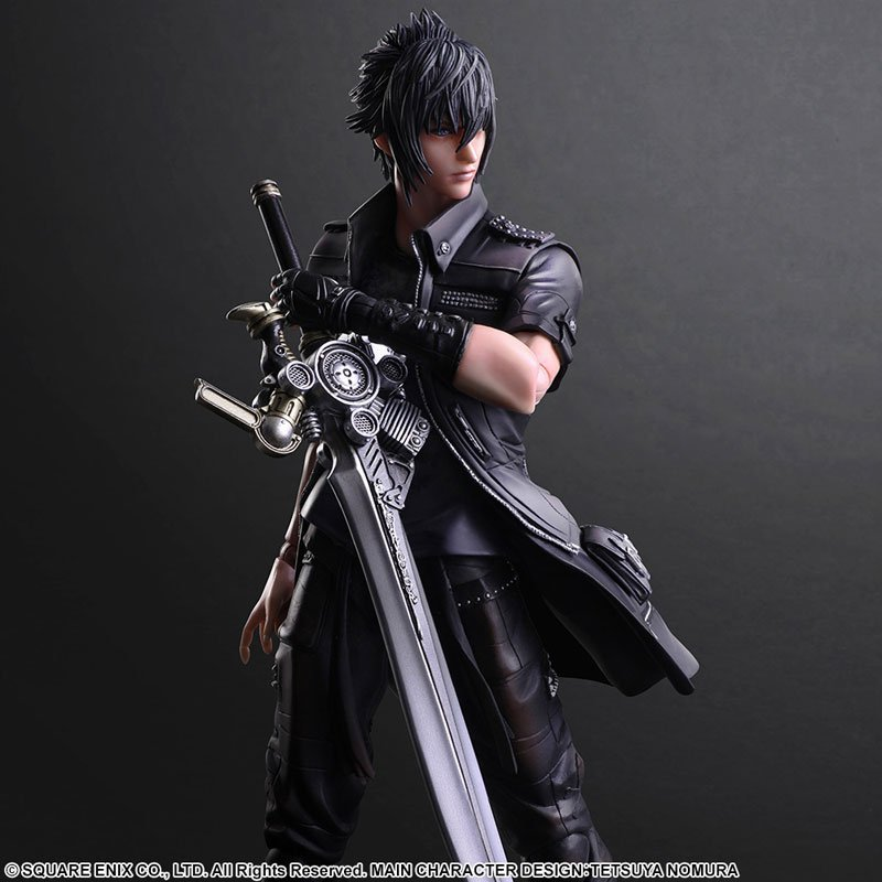 PLAY ARTS 27cm Final Fantasy XV Noctis Lucis Caelum Action Figure Model Toys