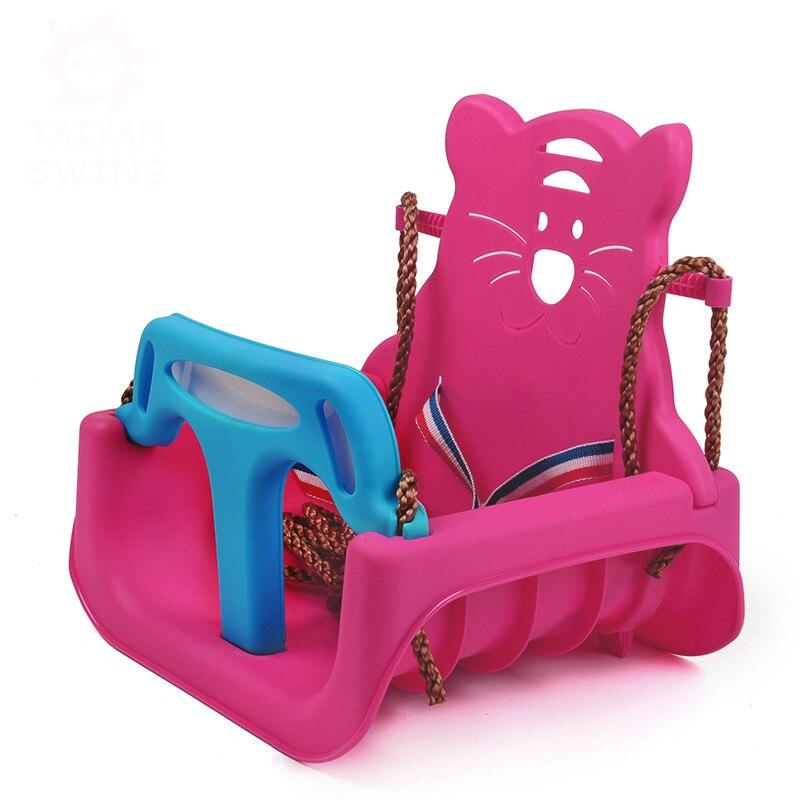 Enfants balançoire intérieur ménage bébé siège de sécurité en plein air infantile jouet balançoire chaise suspendue panier suspendu
