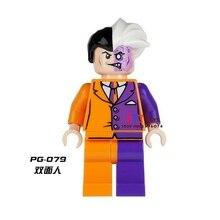 Venda de star wars filme de super-heróis da marvel Dois Rosto único modelo de blocos de construção tijolos brinquedos para as crianças brinquedos menino
