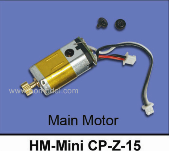 Super CP Main Motor Walkera HM-Genius CP-Z-11/MINI CP-Z-15 Walkera super cp Parts Free Shipping with tracking hm mini cp z 11 main gear for walkera mini cp and super cp