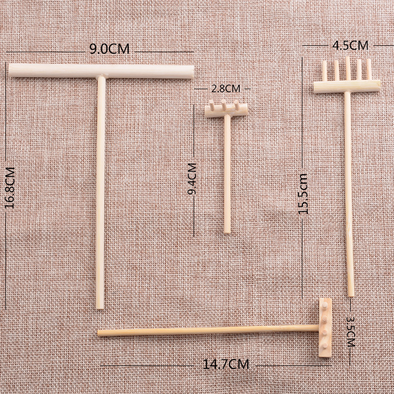 Aliexpress.com : Buy 4pcs Zen Garden Set Feng Shui Meditation Tools Home  Decor Relaxation Bamboo Rake Handcrafted From Reliable Handcrafted Decor  Suppliers ...