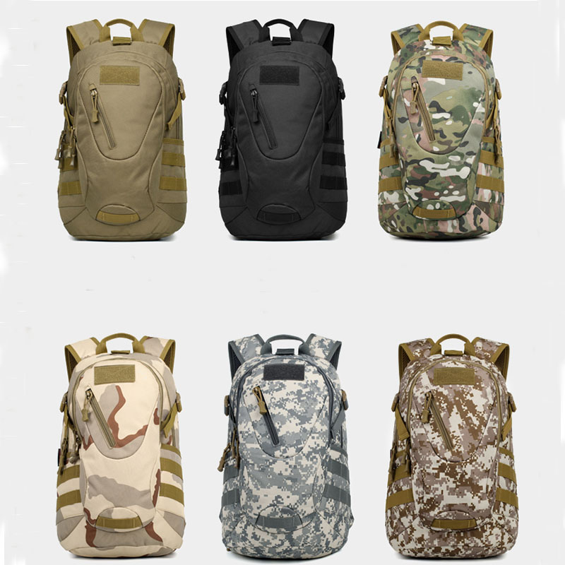 <font><b>Molle</b></font> Camouflage Backpack Canvas Military Bags <font><b>Tactico</b></font> Hunting Pack Tactical Sport Travel Backpack Zipper Cargo SWAT Bag Bolsa image