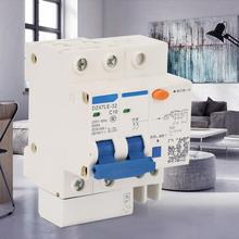 2P+2 RCBO Residual current Circuit breaker with over and short current Leakage protection DZ47LE-32 C16 230V/16A dmwd dpnl dz30le 32 1p n 25a 220v 230v 50hz 60hz residual current circuit breaker with over current and leakage protection rcbo