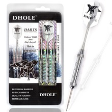 DHOLE Steel Tip Darts,21 Grams Dart Barrels,Dart Set With Dart Shaft,DHOLE Dart Flight