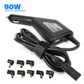 90W Universal Car Laptop Adapter Automatic DC Changer Power for Samsung HP ASUS ... Notebook and USB5.1V 2A for Tablet Phone Mp3