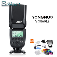 Yongnuo YN860Li Wireless Flash Speedlite Lithium Battery Camera Flash for Canon Nikon Sony Fuji with YN560III/YN560IV/YN660 968