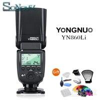 Yongnuo YN860Li Wireless Flash Speedlite Lithium Battery Camera Flash for Canon Nikon Sony Fuji with YN560III/YN560IV/YN660 968