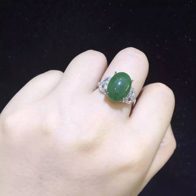 Natural green jasper gem Ring Natural gemstone ring 925 sterling silver trendy Elegant branches women girl party fine JewelryNatural green jasper gem Ring Natural gemstone ring 925 sterling silver trendy Elegant branches women girl party fine Jewelry
