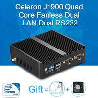 XCY Mini PC Quad Core J1900 8G RAM 128G SSD HTPC Fanless Nuc Intel HD Graphics