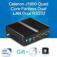 XCY Mini PC Quad Core J1900 8G RAM 128G SSD HTPC Fanless Nuc Intel HD Graphics