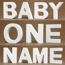 Дерево деревянные буквы Английский алфавит толщиной 15 мм DIY персонализированные Имя Дизайн Искусство ремесло свободно стоящее сердце Свадебный домашний декор