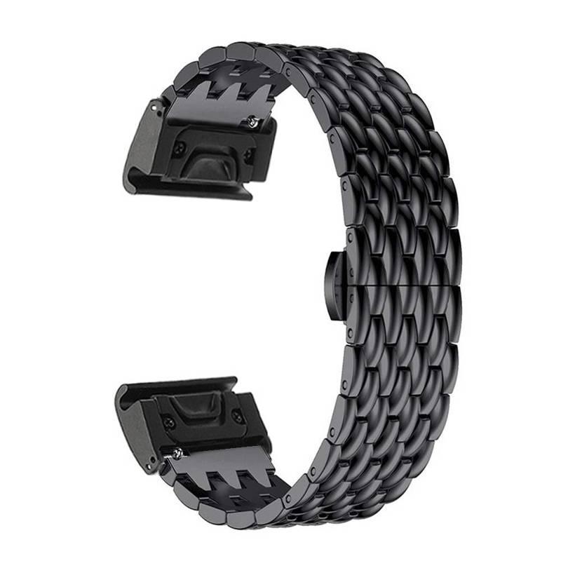 metal 20mm ajuste rápido pulseira de relógio