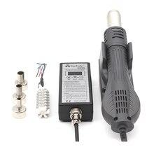 Pistolet à Air chaud 8858, 220V, Station de soudure avec radiateur en céramique, outils de réparation de soudure, SMD