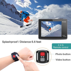 Image 4 - Original EKEN H9 H9R Ultra HD 4K 30fps Action Kamera 30m wasserdichte 2 zoll LCD Bildschirm Wi Fi remote Gehen Extreme pro Sport Kamera