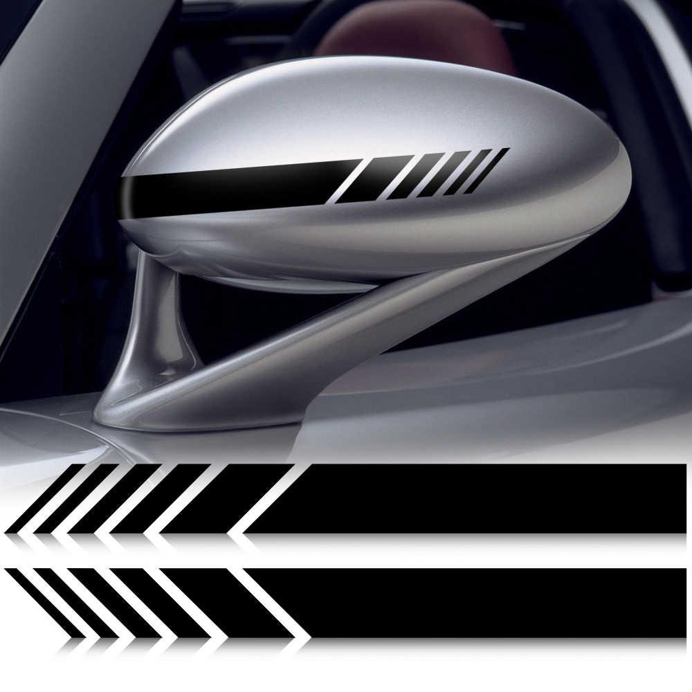 Voiture autocollants vinyle voiture-style rétroviseur pour honda terran opel mokka mazda 6 2006 alfa romeo 159 renault megane 2