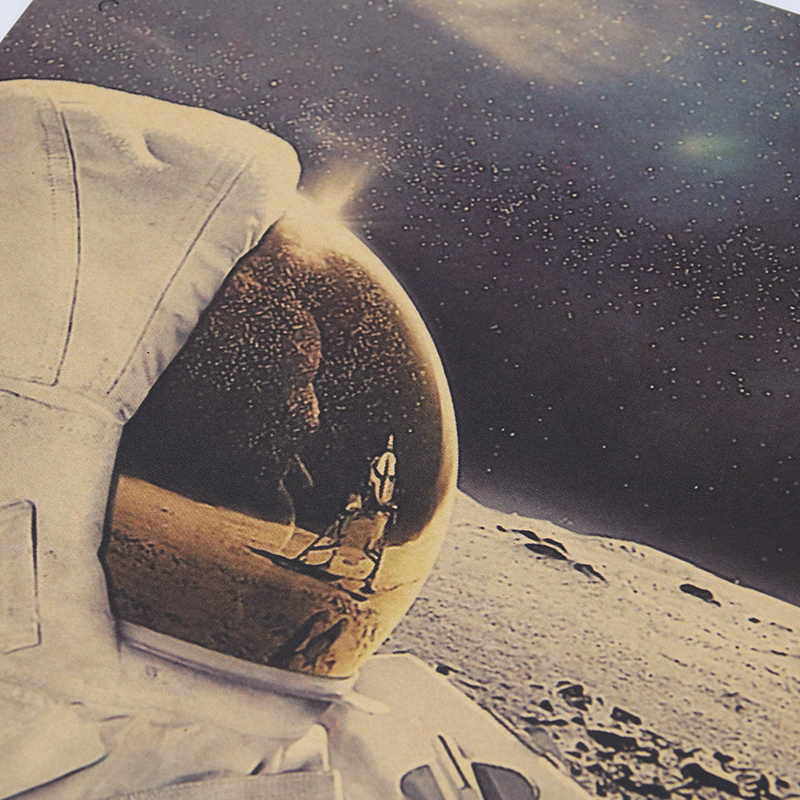 Dlkklb Classic Outer Space Earth Astronauts Drink Relaxing Moon Landing Fantasy Kraft Paper Poster Home Decor Dlkklb Classic Outer Space Earth Astronauts Drink Relaxing Moon Landing Fantasy Kraft Paper Poster Home Decor Wall Sticker