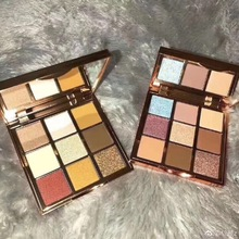2019 Sexy 9 Color Sunset Matte Eyeshadow Palette Flash Paint Smoky Makeup Earth Tone Shadow Cosmetics Set