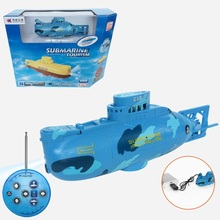 2017 New fashion RC Submarine Outdoor Toys 3311 6CH electric high speed recharge Mini RC Water Boat children toy model VS HQ958