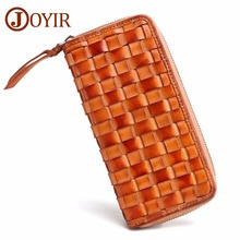 JOYIR Luxury Women Men Wallets Purse Money Bag Leather Men Clutch Wallet Male Phone Leather Man Long Wallet Carteira Masculina
