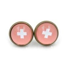 1 pair Hot Pokemon Gem Stud Earrings