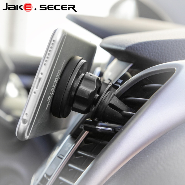 Universal magnetic Car phone holder support mobile cell phone for iphone 6 6s car air vent mount magnet holder stand for samsung