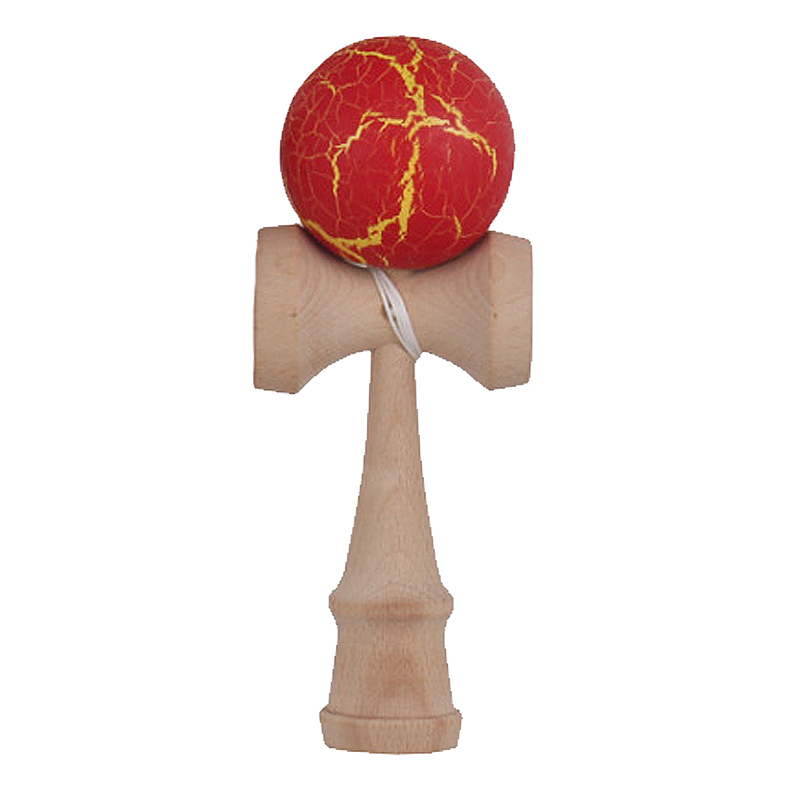 Crack Paint Kendama Ball Skillful Juggling Game Ball ...