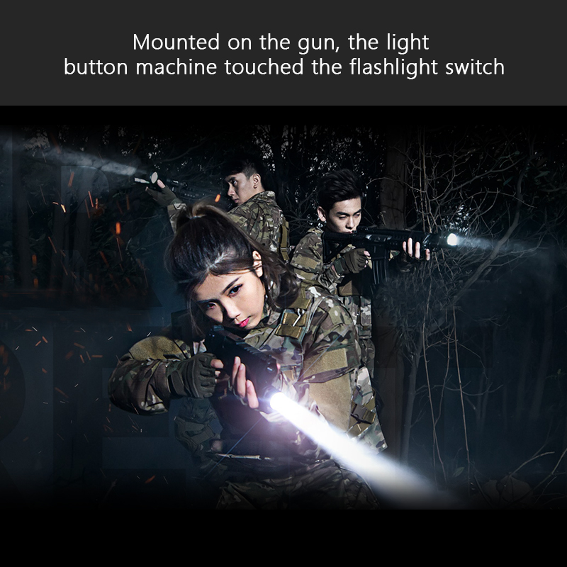 hunting flashlight 18650 Rechargeable torch tactical long range flashlight self defense waterproof flash light lampe torche - 2