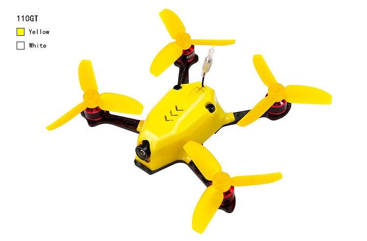 110GT PNP Mini Quadcopter FPV Racer Drone With 800TVL Camera 1105 8500KV Motor DSM2/Frsky/FS-RX 2A Flysky/FM800 Receiver F20979