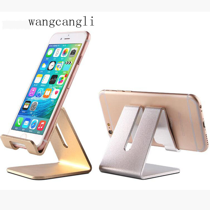Aluminum Alloy Rotating Phone Holder For Iphone X For Samsung Tablet Holder Stand Mount Support Bracket Adjustable Desk Holde