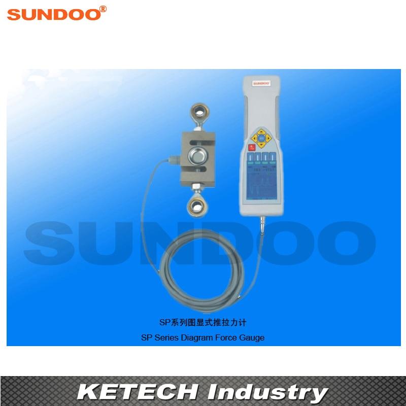 ZuverläSsig Sundoo Sp-20k 20kn Digitale Diagramm Force Push Pull Tester